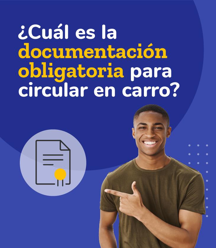 documentación obligatoria para circular