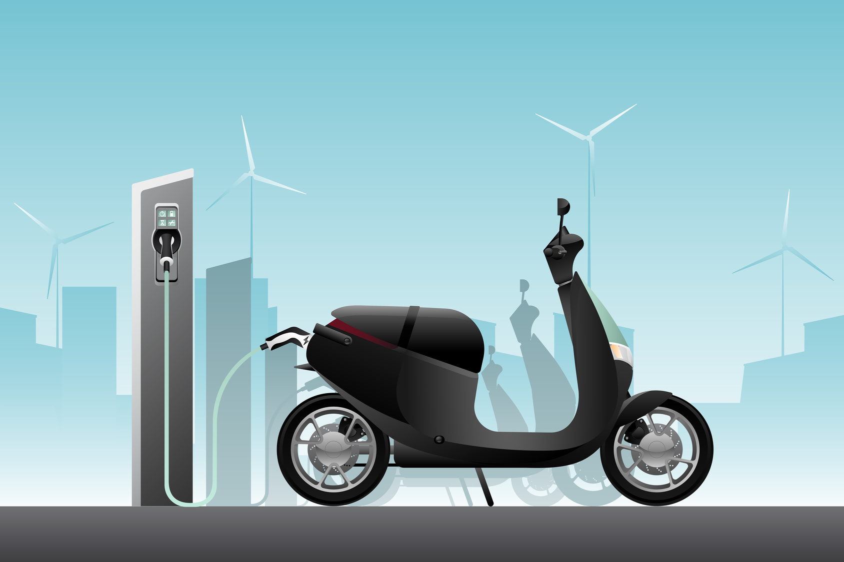Motos y scooters eléctricos en Argentina